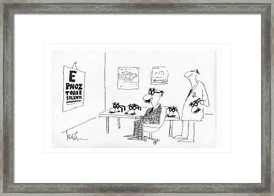 New Yorker December 24th, 1979 Framed Print by Arnie Levin