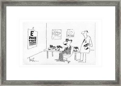 New Yorker December 24th, 1979 Framed Print