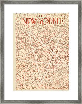 New Yorker December 25th, 1943 Framed Print