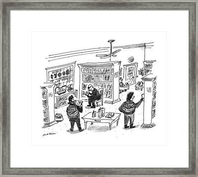 New Yorker December 25th, 1995 Framed Print