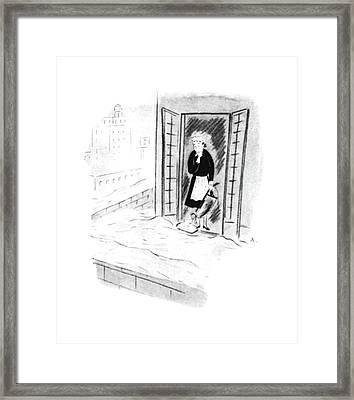 New Yorker December 26th, 1942 Framed Print
