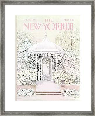 New Yorker December 26th, 1983 Framed Print by Jenni Oliver