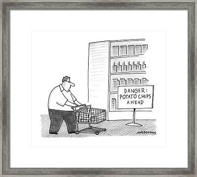 New Yorker December 26th, 1988 Framed Print