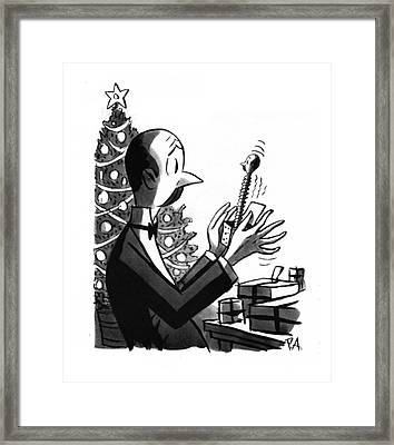 New Yorker December 27th, 1941 Framed Print by Peter Arno