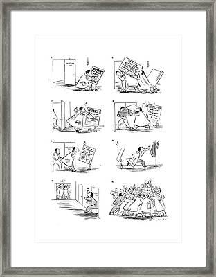 New Yorker December 27th, 1941 Framed Print