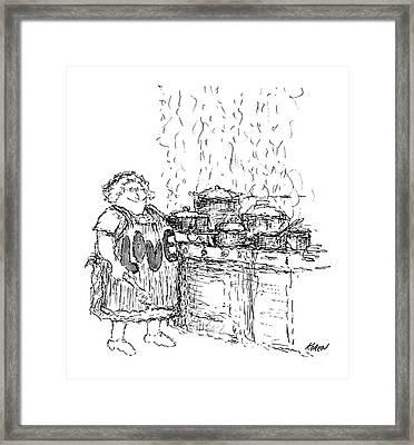 New Yorker December 27th, 1969 Framed Print