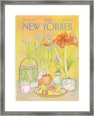 New Yorker December 27th, 1982 Framed Print