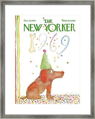 New Yorker December 28th, 1968 Framed Print