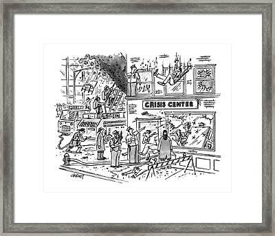 New Yorker December 28th, 1992 Framed Print by Tom Cheney