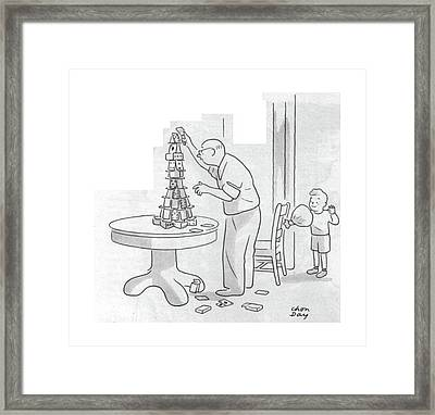 New Yorker December 2nd, 1944 Framed Print by Chon Day
