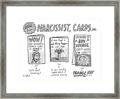 New Yorker December 30th, 1985 Framed Print by Roz Chast