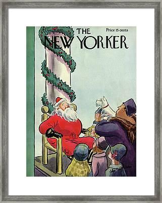 New Yorker December 3rd, 1932 Framed Print