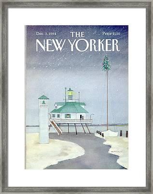 New Yorker December 3rd, 1984 Framed Print