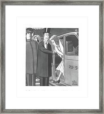 New Yorker December 4th, 1943 Framed Print