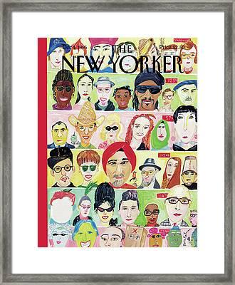 New Yorker December 4th, 1995 Framed Print