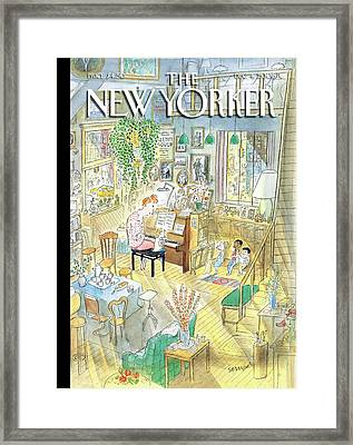 New Yorker December 4th, 2006 Framed Print by Jean-Jacques Sempe