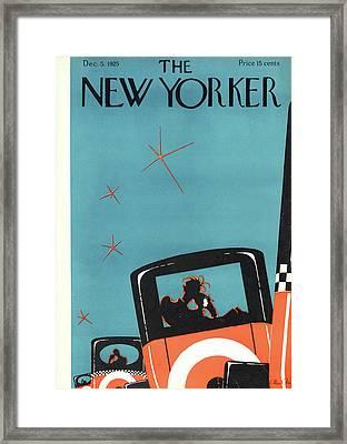 New Yorker December 5th, 1925 Framed Print