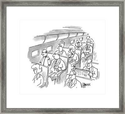 New Yorker December 5th, 1994 Framed Print