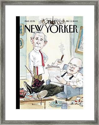 New Yorker December 5th, 2005 Framed Print