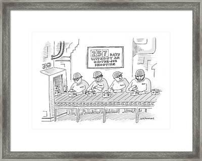 New Yorker December 6th, 1999 Framed Print by Mick Stevens