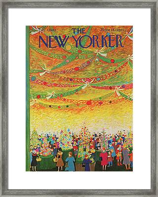 New Yorker December 7th, 1963 Framed Print