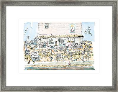 New Yorker December 7th, 1998 Framed Print by George Booth