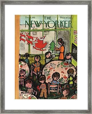 New Yorker December 8th, 1951 Framed Print