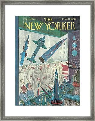 New Yorker December 9th, 1961 Framed Print