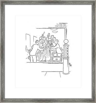 New Yorker February 10th, 1940 Framed Print