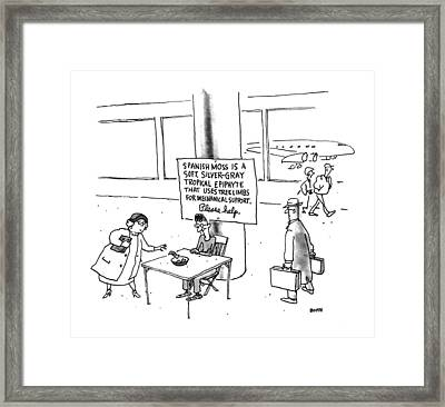 New Yorker February 10th, 1992 Framed Print by George Booth