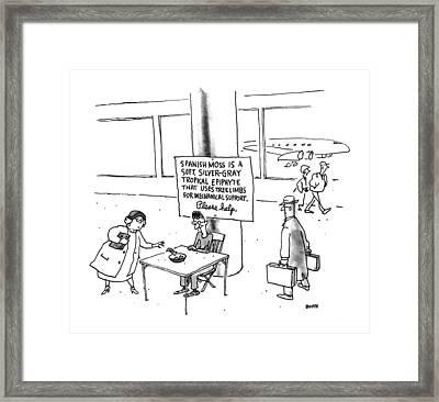 New Yorker February 10th, 1992 Framed Print