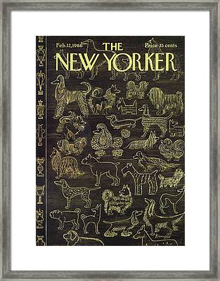New Yorker February 12th, 1966 Framed Print