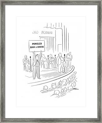 New Yorker February 14th, 1942 Framed Print by  Alain
