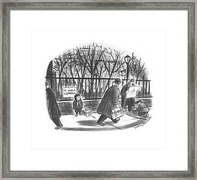 New Yorker February 14th, 1942 Framed Print