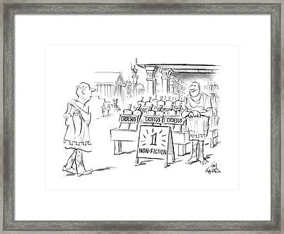 New Yorker February 15th, 1988 Framed Print by Ed Fisher