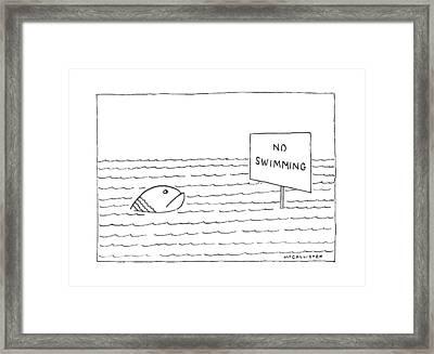 New Yorker February 15th, 1988 Framed Print