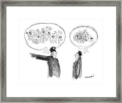 New Yorker February 16th, 1976 Framed Print