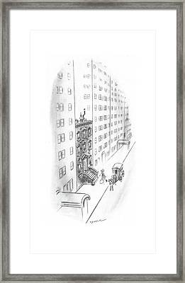 New Yorker February 17th, 1940 Framed Print