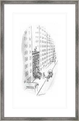 New Yorker February 17th, 1940 Framed Print