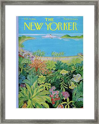 New Yorker February 17th, 1962 Framed Print