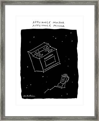 New Yorker February 17th, 1992 Framed Print