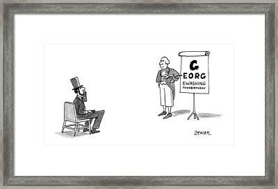 New Yorker February 18th, 1991 Framed Print