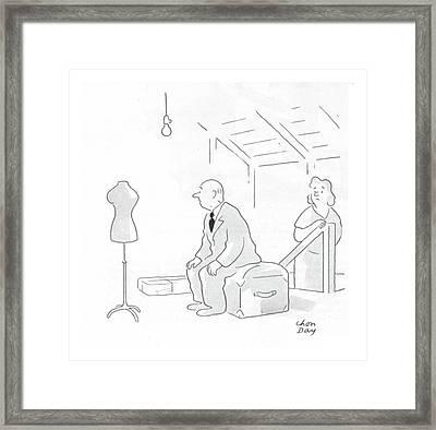 New Yorker February 19th, 1944 Framed Print