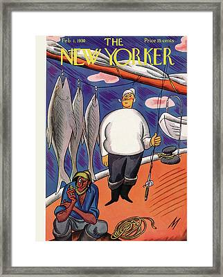 New Yorker February 1st, 1930 Framed Print