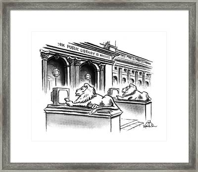 New Yorker February 1st, 1993 Framed Print by Ed Fisher