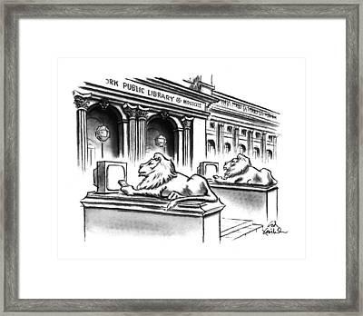 New Yorker February 1st, 1993 Framed Print