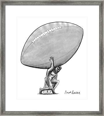 New Yorker February 1st, 1993 Framed Print by Mort Gerberg
