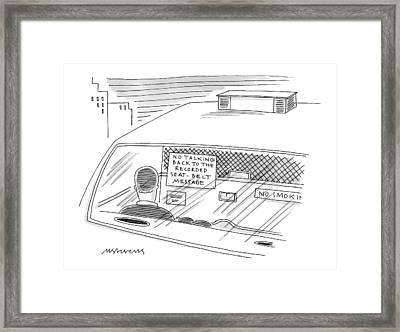 New Yorker February 1st, 1999 Framed Print