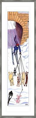 New Yorker February 21st, 1994 Framed Print