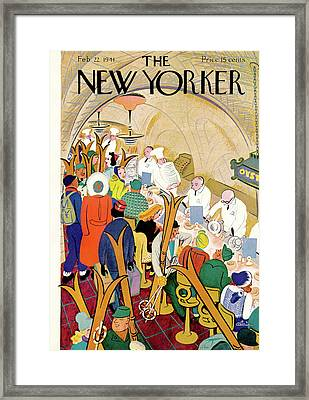 New Yorker February 22nd, 1941 Framed Print